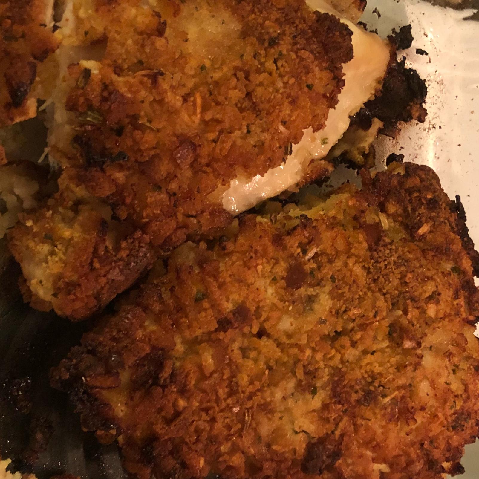 Crispy Juicy Oven-Fried Chicken Breasts Inkedmamma