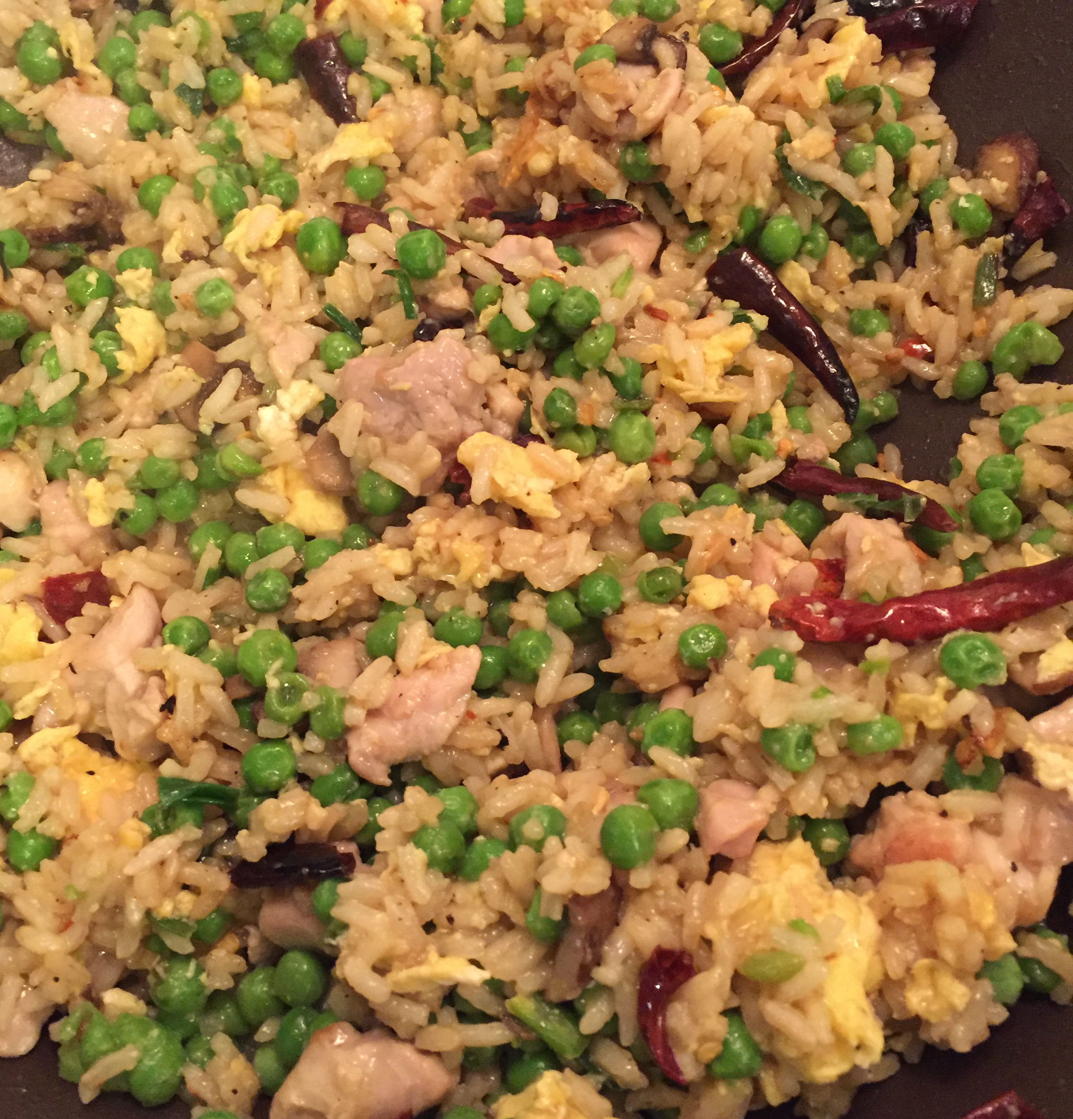 Bacon and Chicken Fried Rice Larry