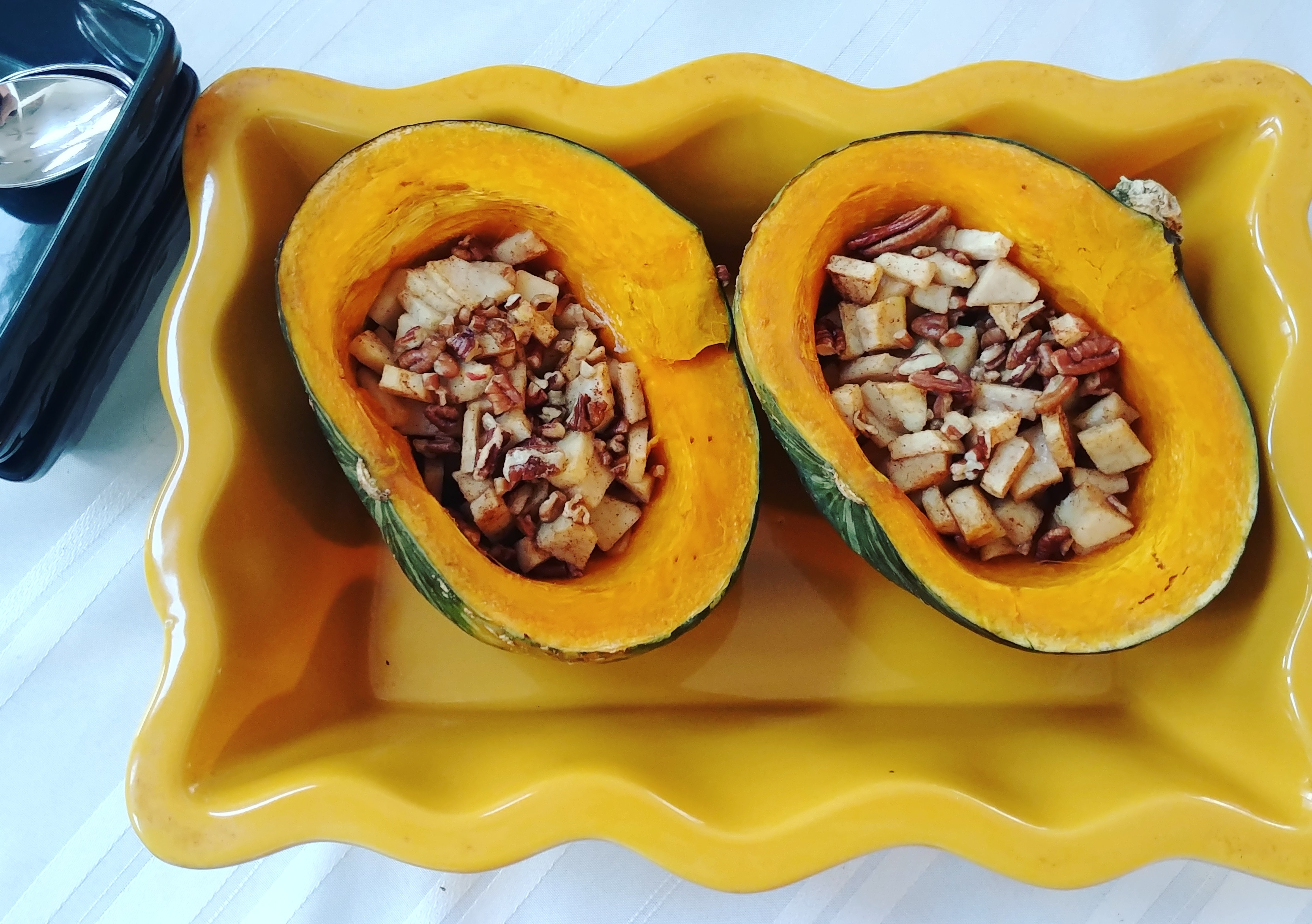 Buttercup Squash with Apples and Pecans Volleyballmom