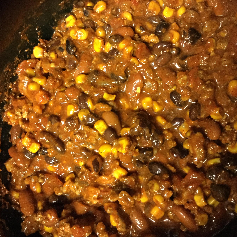 Laura S Quick Slow Cooker Turkey Chili Allrecipes