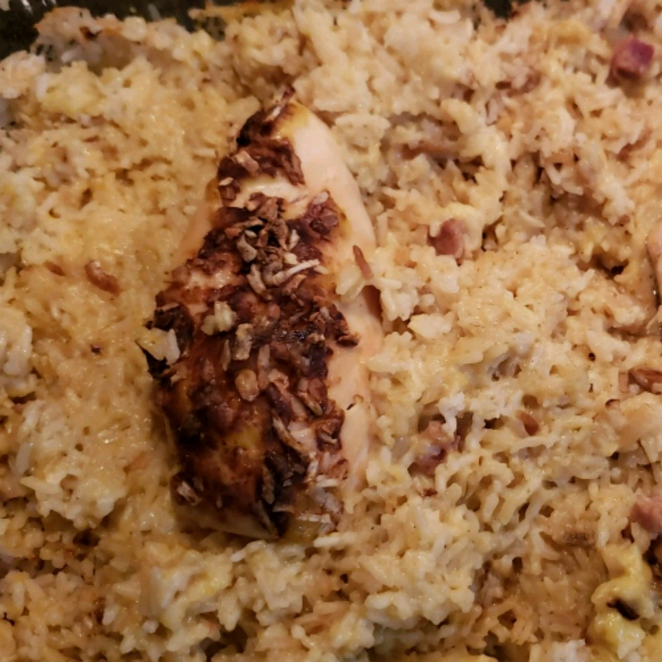 Easy Cheesy Chicken and Rice