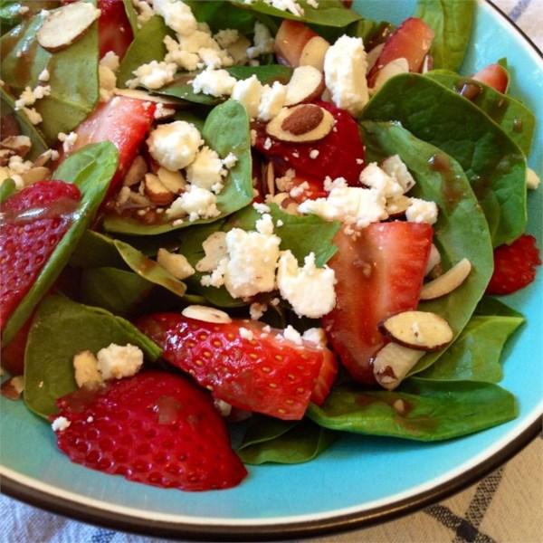 emilys strawberry balsamic salad photos