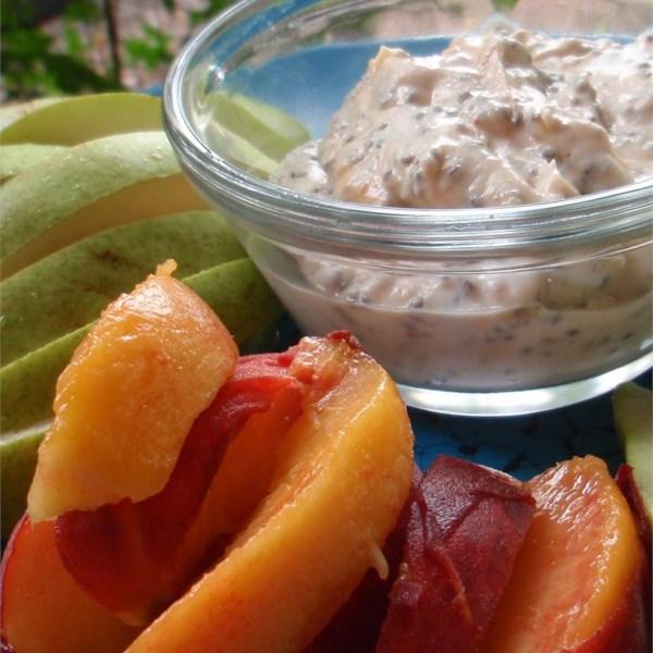 healthy peanut butter fruit dip photos