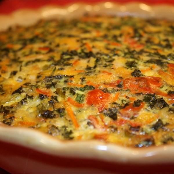 Garden Vegetable Crustless Quiche: Summer Garden Crustless Quiche Photos