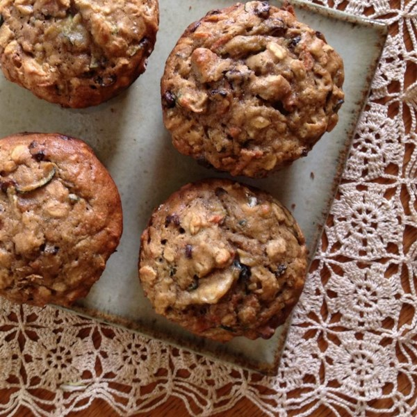 hearty breakfast muffins photos