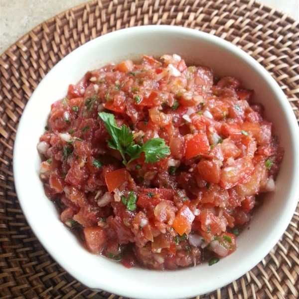 jens fresh and spicy salsa photos