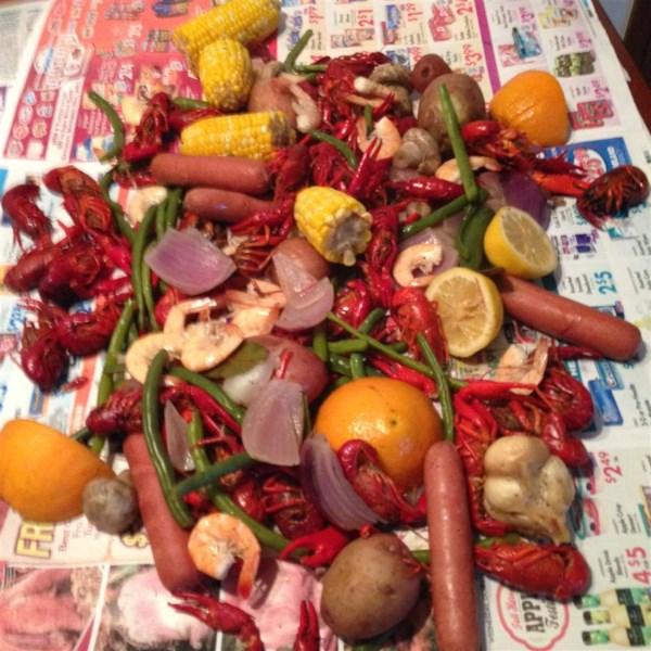 louisiana crawfish boil photos
