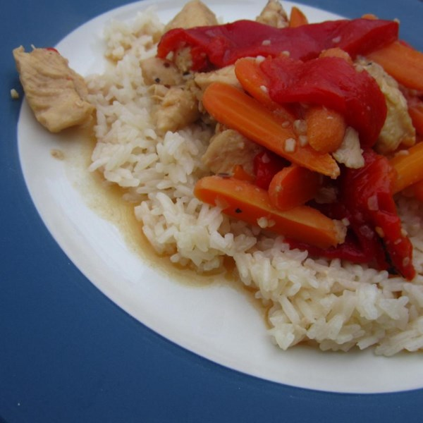 chicken delirious and buttered rice for pressure cooker photos