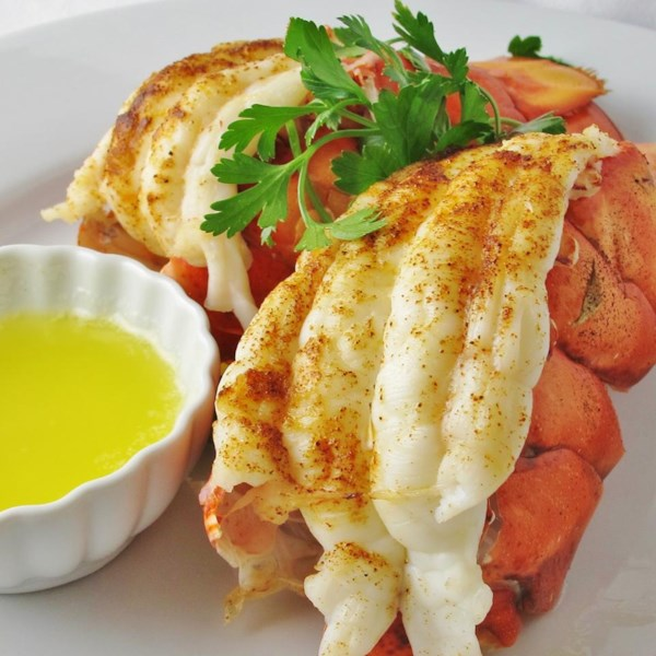 Easy Broiled Lobster Tails Photos