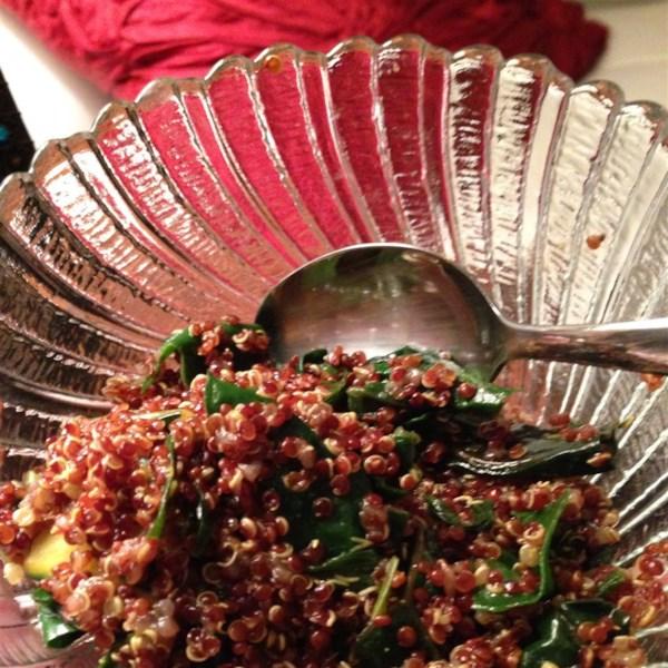 quinoa chard pilaf photos