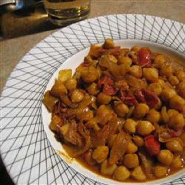 delicious chana masala photos