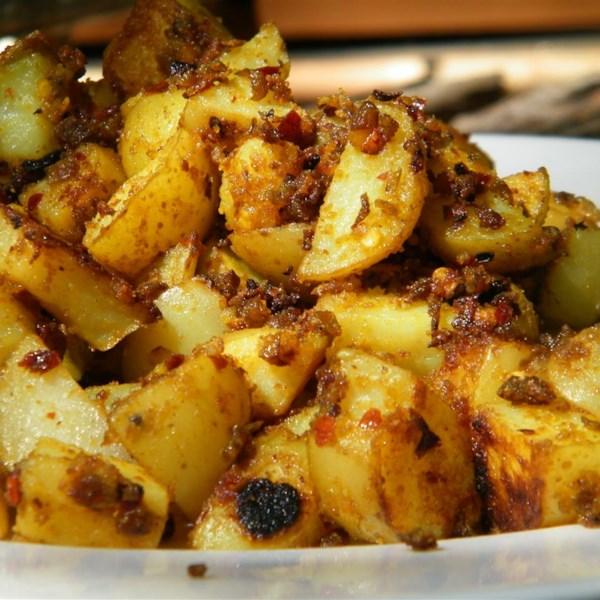 bengaladumpa vepudu potato stir fry photos