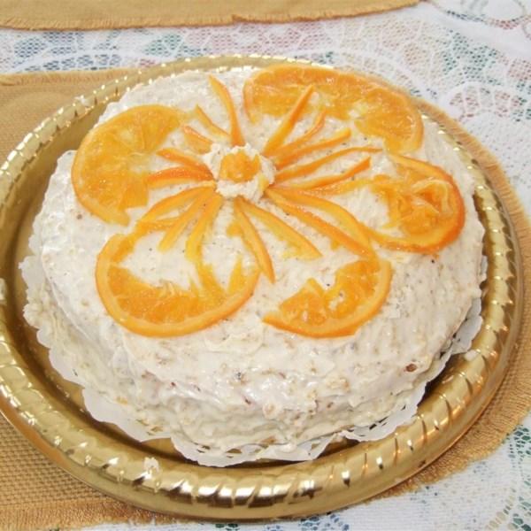 perfect flourless orange cake photos