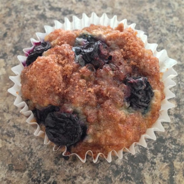 blueberry oatmeal chia seed muffins photos