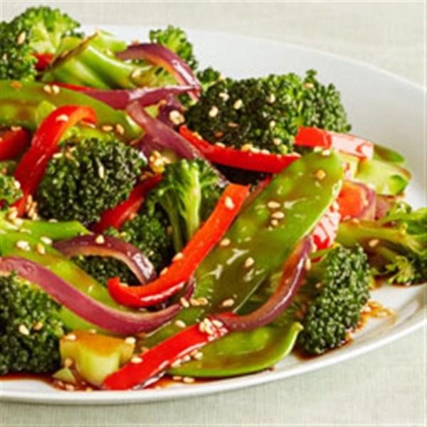 sesame vegetable stir fry photos