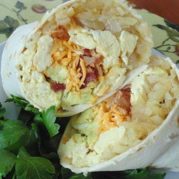 flannerys bacon avocado burritos photos