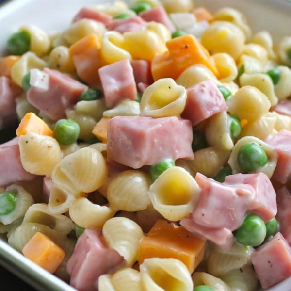 ham and shell salad photos
