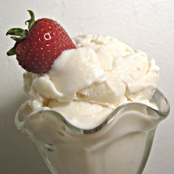 vanilla frozen yogurt photos