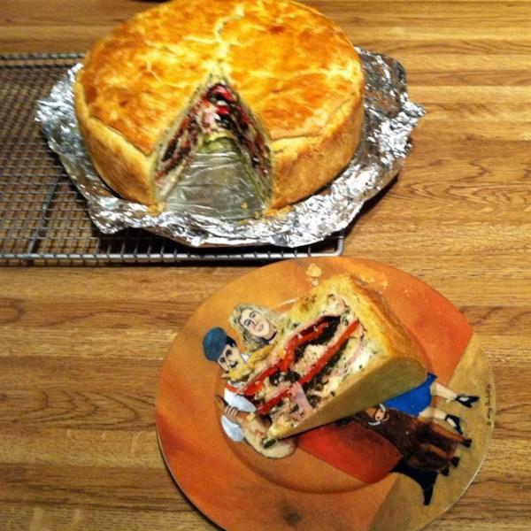 torta rustica photos