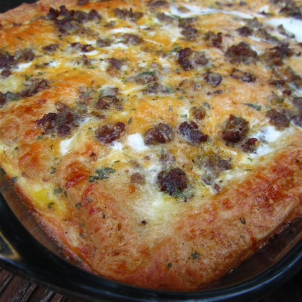 christmas breakfast pizza photos