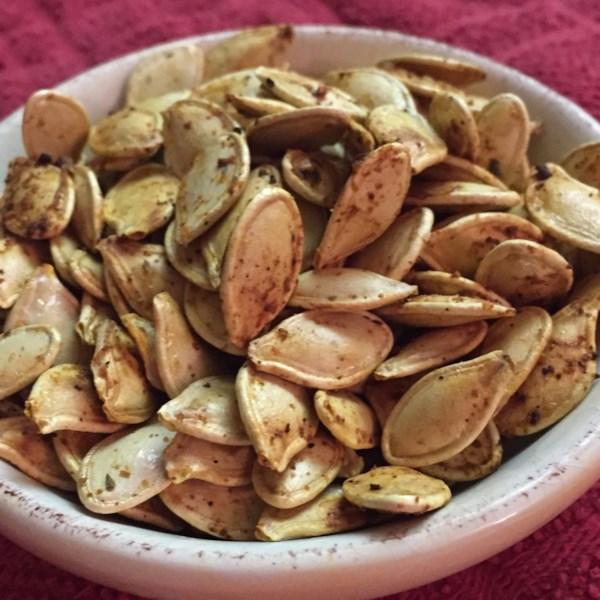 mexican spiced pumpkin seeds photos