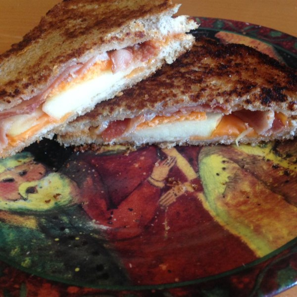apple and bacon grilled cheese photos