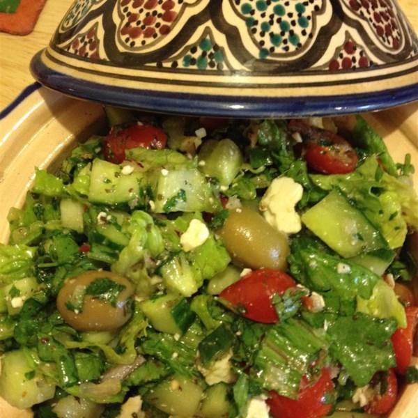 arabic fattoush salad photos