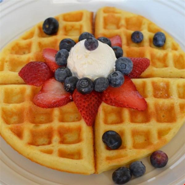 super sunday waffles photos