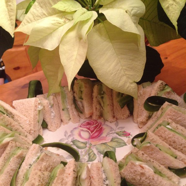english tea cucumber sandwiches photos