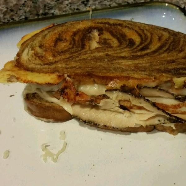 grilled turkey reuben sandwiches photos
