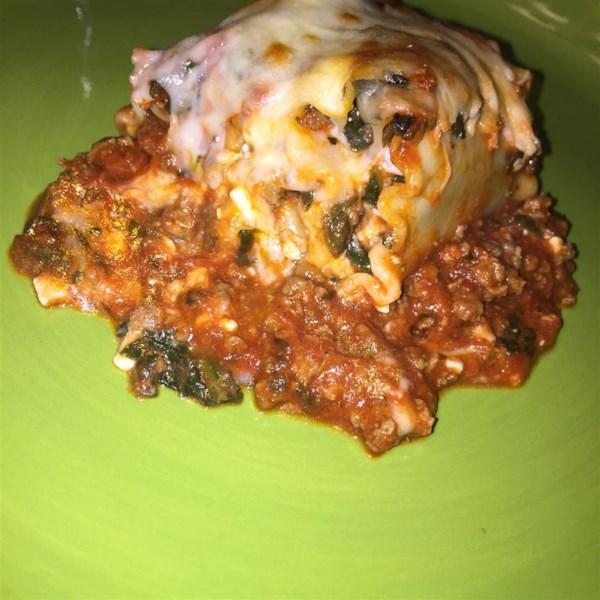 lasagna spinach roll ups photos