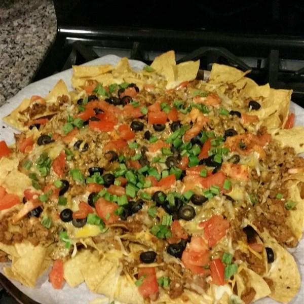 turkey nacho bake photos