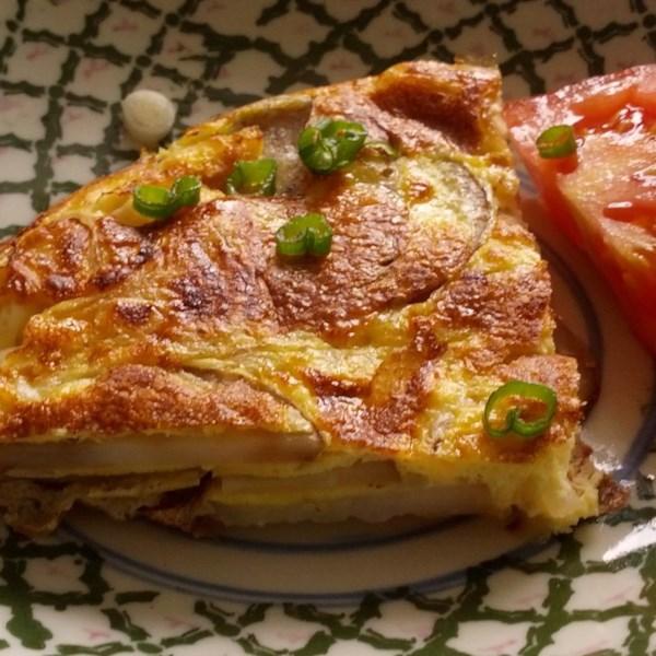 spanish potato omelet photos