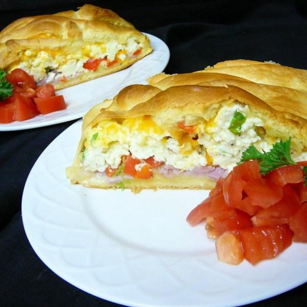 scrambled egg brunch bread photos