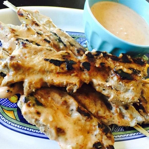 martys thai chicken satay photos