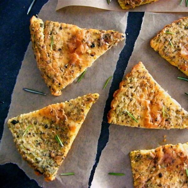 italian chickpea bread photos