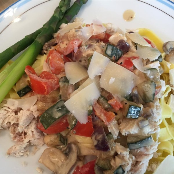 chicken milano with roasted red peppers photos