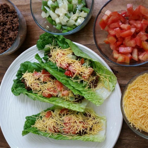 lettuce leaf tacos photos