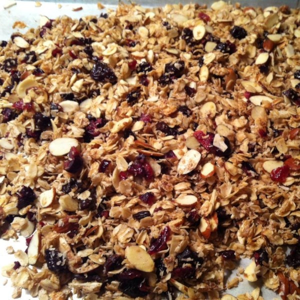 cranberry hibiscus granola photos