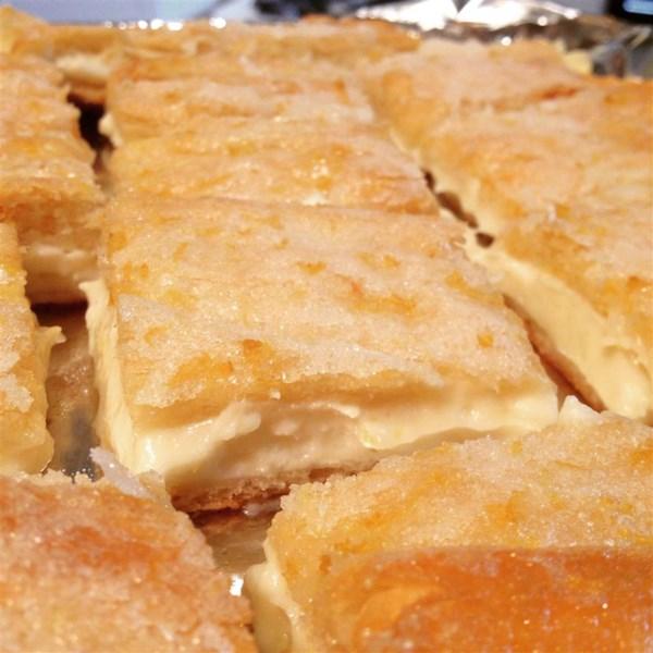 lemon cream cheese bars photos