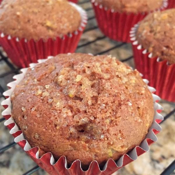 apple cinnamon zucchini muffins photos