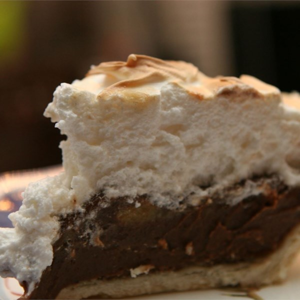 Fudgy Chocolate Cream Pie Photos Allrecipes Com