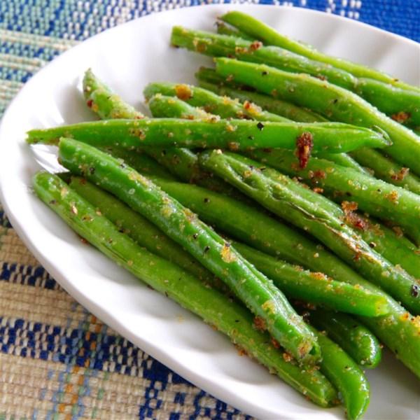 sauteed garden fresh green beans photos