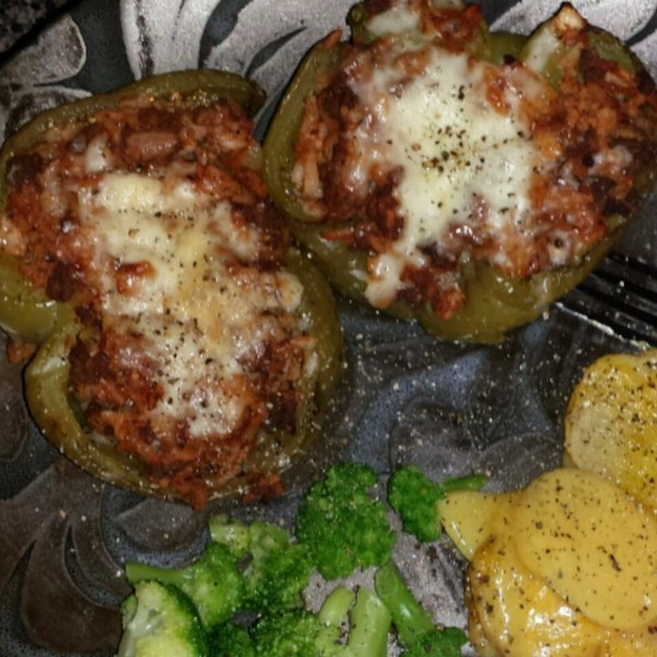 kelseys favorite stuffed green peppers photos