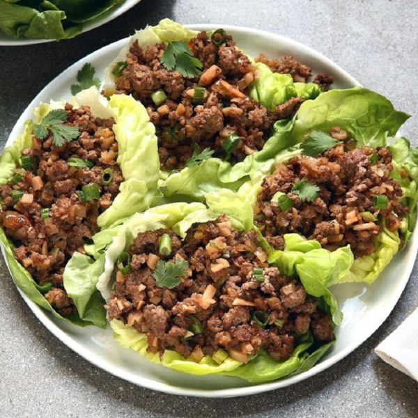 asian lettuce wraps photos