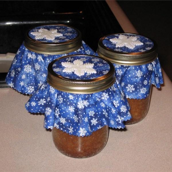 banana nut bread baked in a jar photos