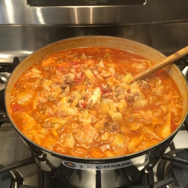 sweet russian cabbage soup photos