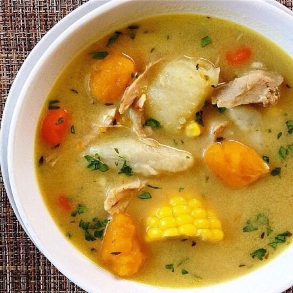 caribbean fish soup photos