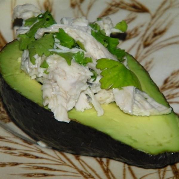 mexi chicken avocado cups photos