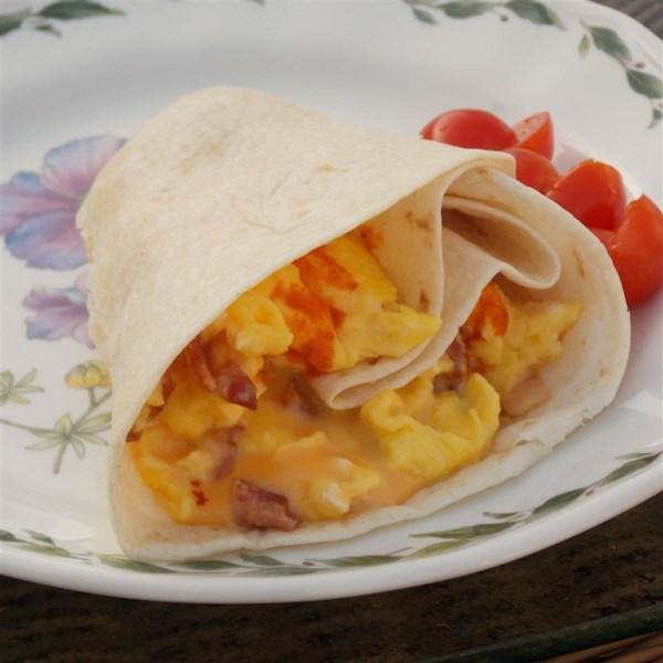bacon and egg tacos photos